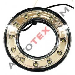 Фонарь габаритный передний 6310.3731 (24В) LED белый (кольцо) ан.78.3731