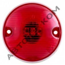 Фонарь габаритный задний 52.3731-03 (12/24В) красный LED гриб (с проводом)