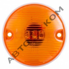 Повторитель указателя поворота 61.3726-03 (12/24В) желтый LED гриб (с проводом)
