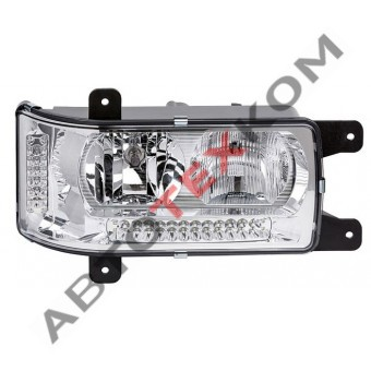 Блок-фара 44.3775000 (24В) правая LED с ДХО (ан.202.3775-20)