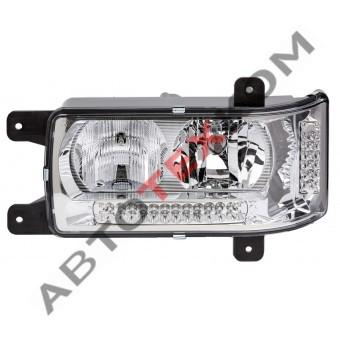 Блок-фара 441.3775010 (24В) левая LED с ДХО (ан.201.3775-20)