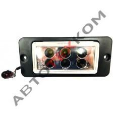 Фара противотуманная 35.3743 (12/24В) LED 6 диодов КАМАЗ рестайлинг