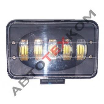 Фара противотуманная 50S-REC-BLACK (50W) LED 5 диодов
