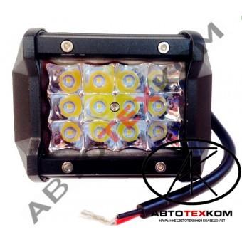 Фара противотуманная А31-36-S (36W) LED 12 диодов