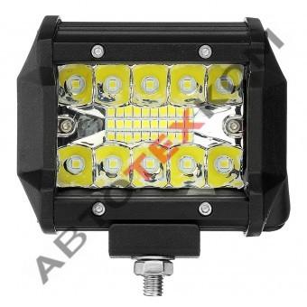 Фара противотуманная А31-60-S (60W) LED 20 диодов (комби свет)