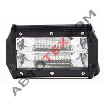 Фара противотуманная А31-72-S-D (72Вт) LED 24 диода (ближний свет)