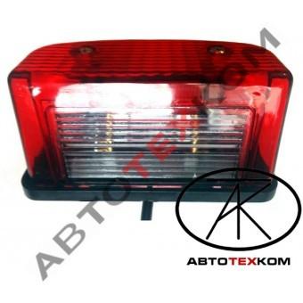 Подсветка номерного знака ПН1-0102 (12/24В) красная LED