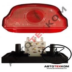 Подсветка номера ПН-2 (12/24В) LED красный (линза)