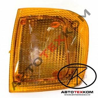 Рассеиватель указателя поворота 3502.3726-204-01 левый (желтый)