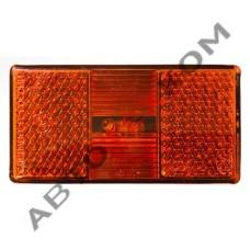 Фонарь маркерный АТК-1050.3731-02 (12/24В) желтый LED