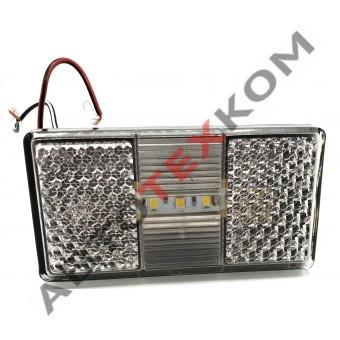 Фонарь маркерный АТК-1050.3731-05-01 (12/24В) белый LED с проводом