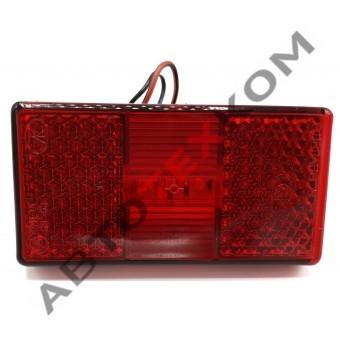 Фонарь маркерный АТК-1050.3731-05-01 (12/24В) красный LED с проводом