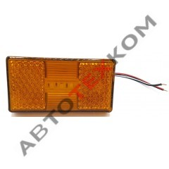 Фонарь маркерный АТК-1050.3731-05-01 (12/24В) желтый LED с проводом