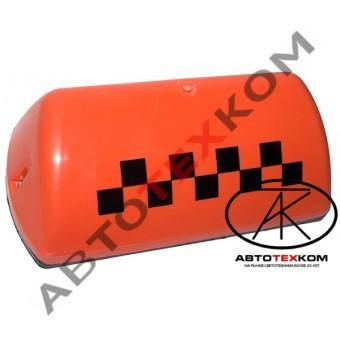 Фонарь ТАКСИ АТК-6М оранжевый (шашка)