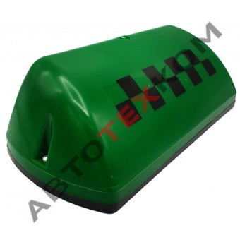 Фонарь ТАКСИ АТК-6М-02 зеленый (шашка)