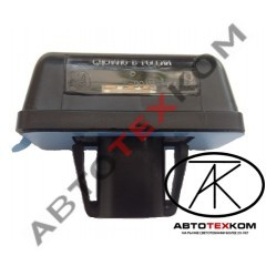 Фонарь освещения номерного знака А31R23.3717010 (12В) с овальным AMP разъёмом LED