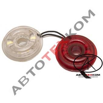 Оптический элемент в рога ГФ 3 (12/24В) Бегущий Огонь (с отверстием) LED