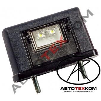 Подсветка номера ЕС-10 (12/24) черный LED