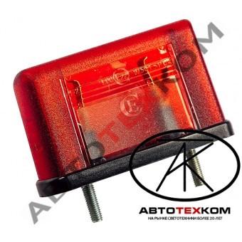Подсветка номера ЕС-10 (12/24В) красный  LED