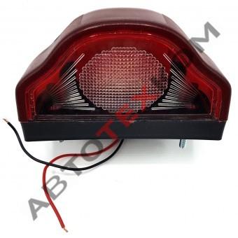 Подсветка номера 2332R (12/24В) красная