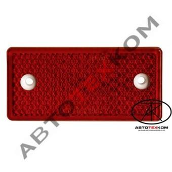 Световозвращатель 201.3731-02 (красный) с отверстиями