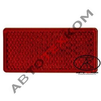 Световозвращатель 200.3731-02 (красный) 2-х сторонний скотч