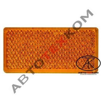 Световозвращатель 200.3731-00 (желтый) 2-х сторонний скотч
