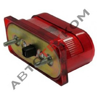 Фонарь освещения номерного знака ФП-131 (12/24) красный корпус LED