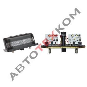 Фонарь освещения номерного знака ФП-131 (12/24) пластмассовый корпус LED