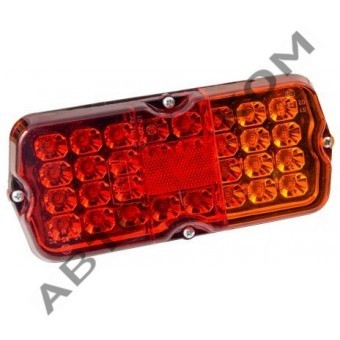 Фонарь задний 132.3716-33 (24В) светодиодный УАЗ