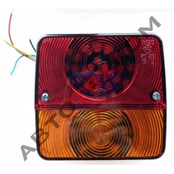 Фонарь задний ЕС-19 (12/24В) LED с проводом