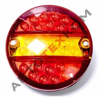 Фонарь задний круглый 0021 (24В) LED