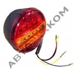 Фонарь задний ST1030 (12/24В)  LED левый (с подсветкой номера)