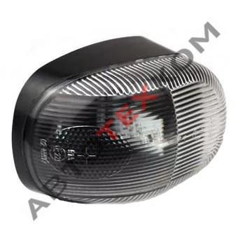 Фонарь контурный передний 90.3731-01 (24В) белый LED болты по ширине АЭК
