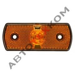 Фонарь габаритный 152.3731-00 (24В) LED желтый (Schmitz) н.о.