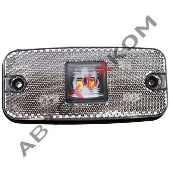 Фонарь габаритный маркерный 010.3731 (12/24В) белый  LED