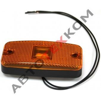 Фонарь габаритный маркерный 010.3731 (12/24В) желтый  LED