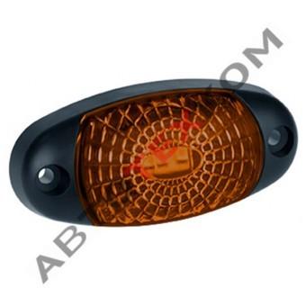 Фонарь маркерный 60.3731-00 (12/24В) желтый LED паутинка