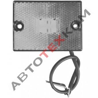 Фонарь маркерный 70.3731-01 (12/24В) белый LED