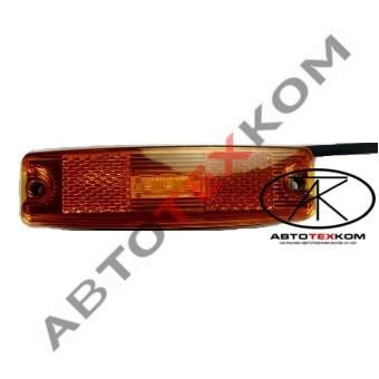 Фонарь маркерный 83.3731-00 (желтый) LED с прокладкой