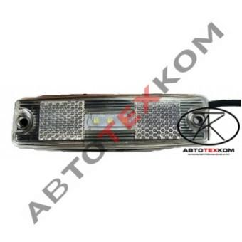 Фонарь маркерный 83.3731-01 (белый) LED с прокладкой
