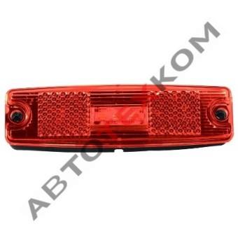 Фонарь маркерный 83.3731-02 (красный) LED с прокладкой