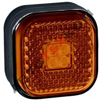 Фонарь маркерный боковой 110.3731-00 (12/24В) желтый LED