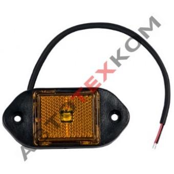 Фонарь маркерный боковой 120.3731-00 жёлтый LED