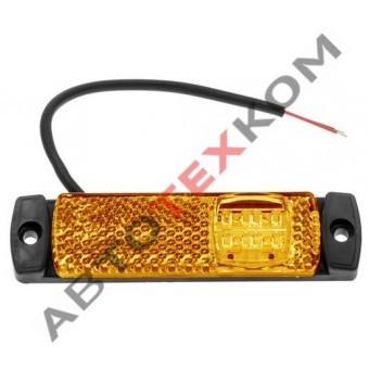 Фонарь маркерный боковой 81.3731-00 жёлтый LED