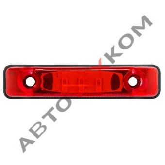 Фонарь маркерный задний 140.3731 красный LED
