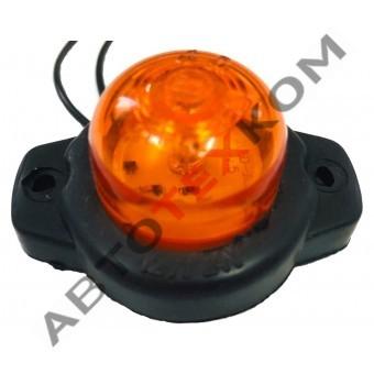 Фонарь габаритный ГФ 3.18 LED-03 (12/24В) желтый (шайба)