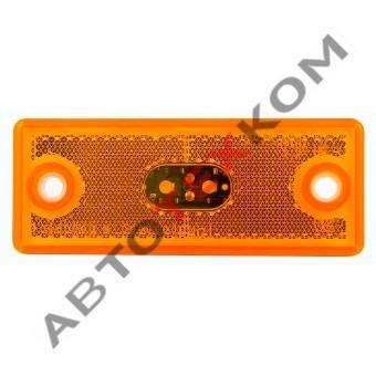 Фонарь боковой габаритный 112.09.82 (12/24В) LED со светоотражателем
