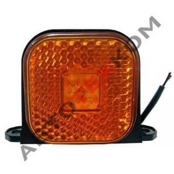 Фонарь габаритный 130.3731-00 (12/24В) желтый LED