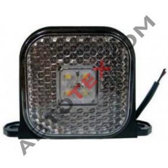 Фонарь габаритный 130.3731-01 (12/24В) белый LED